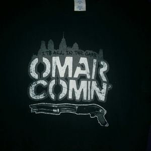 Its all in the game omar comin small shirt